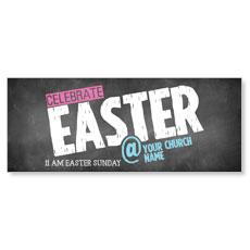 Easter At Chalk Banner
