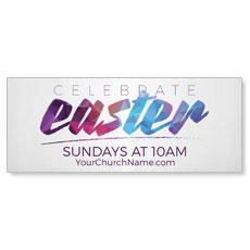 Easter Colors Banner