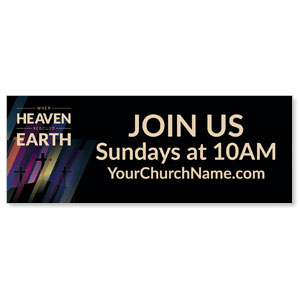 Heaven Rescued Earth Banners