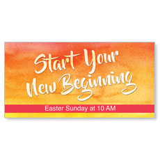 Big Invite New Beginning Banner