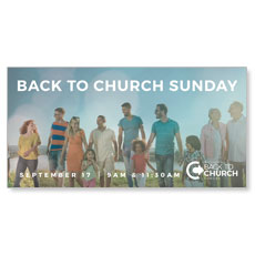 Back to Church Sunday People