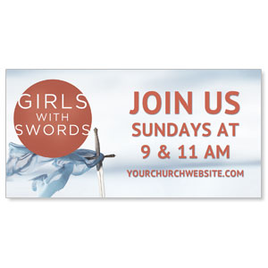 Girls With Swords Banners