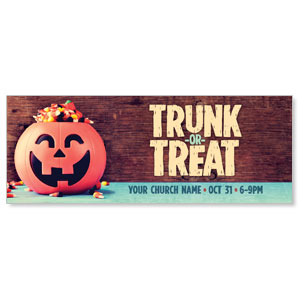 Trunk or Treat Banners