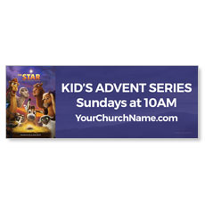 The Star Movie Advent Series for Kids Banner