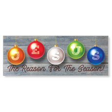 Jesus Reason Ornaments