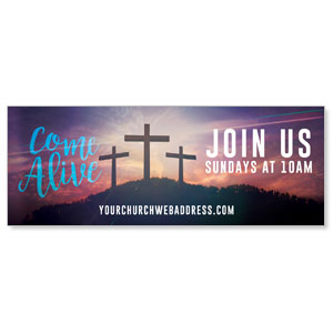 Come Alive Easter Journey - 3x8 ImpactBanners