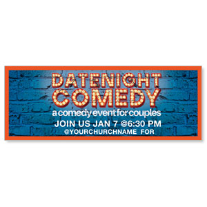 Date Night Comedy - 3x8 ImpactBanners