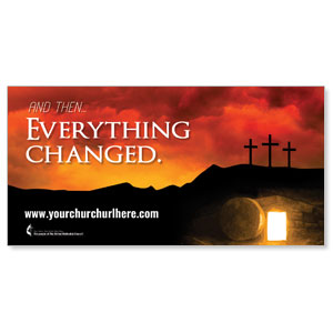 UMC Easter Everything Changed Banners