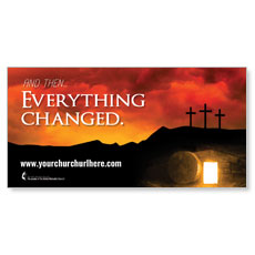 UMC Easter Everything Changed Banner