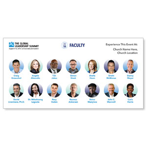 WCA Leadership Summit 2018 Speakers Banners