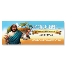 The Action Bible VBS Banner