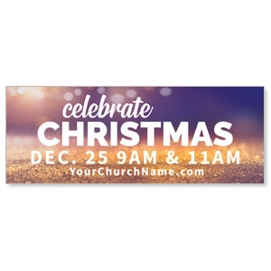 Celebrate Christmas Nativity Banners