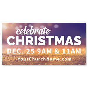 Celebrate Christmas Nativity - 4x8 ImpactBanners