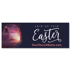 Dramatic Tomb Easter ImpactBanners