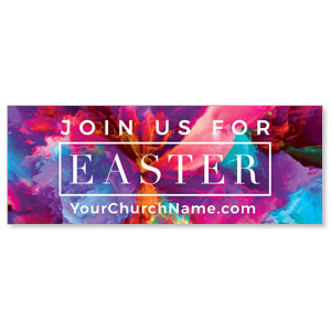 Easter Color Smoke ImpactBanners