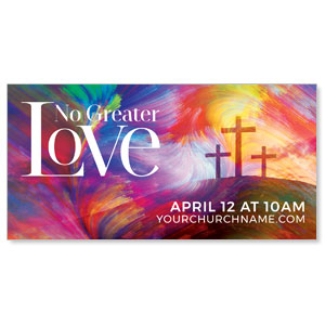 No Greater Love ImpactBanners