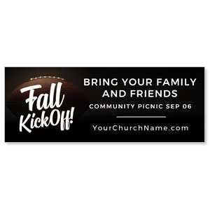 Kickoff This Fall ImpactBanners