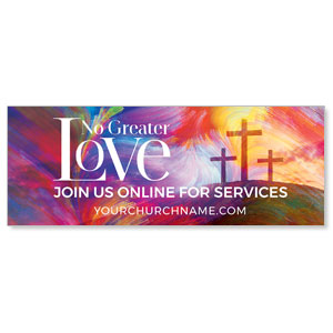 No Greater Love Online ImpactBanners