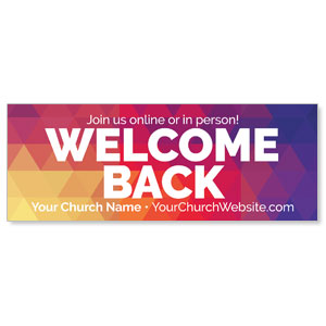 Geometric Bold Welcome Back ImpactBanners