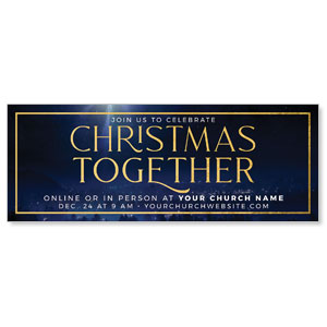 Christmas Together Night ImpactBanners