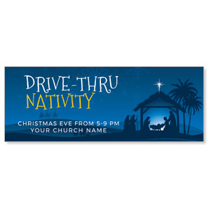 Drive-Thru Christmas Nativity ImpactBanners