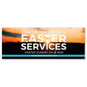 Drive In Easter Services ImpactBanners