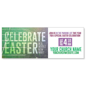 Easter New Way ImpactBanners