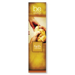 Be the Church Gold Banners