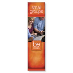 Be the Church Small Groups Banners