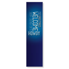 Words Welcome Banner