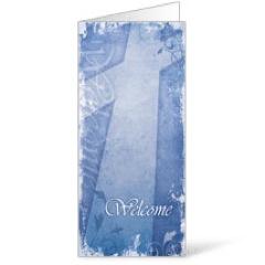 Vintage Blue Bulletin