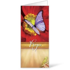 Beautiful Words Hope 11 x 17 Bulletins