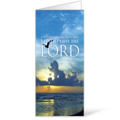 Breath Praise Lord 11 x17 Bulletins