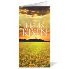 He is Risen Bulletin