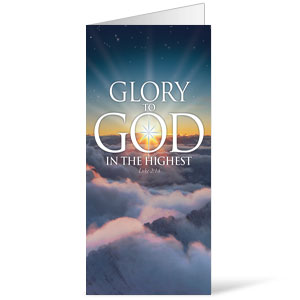 Glory to God Bulletins