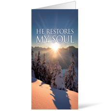 Restores My Soul Bulletin