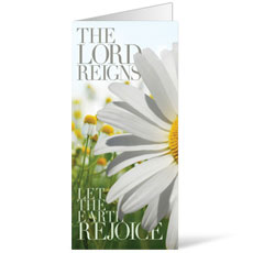 The Lord Reigns Bulletin