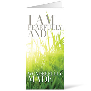 Wonderfully Made 11 x 17 Bulletins