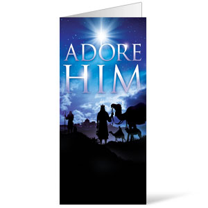 Adore Him Bulletins