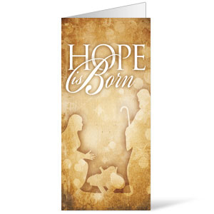 Hope is Born Bulletins