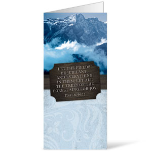 Fresh Air Mountains 11 x 17 Bulletins