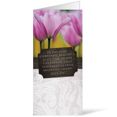 Fresh Air Tulips Bulletin