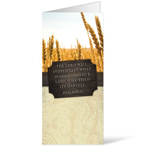 Fresh Air Wheat 11 x 17 Bulletins