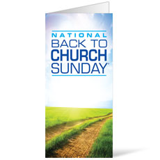 Back to Church Sunday 2014 Bulletin