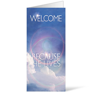 He Lives Welcome 11 x 17 Bulletins