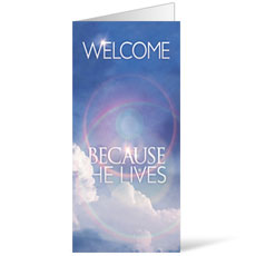 He Lives Welcome Bulletin