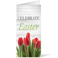 Easter Invited Wood Bulletin