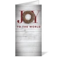Joy Twig Wreath Bulletin