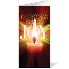 Joy Candle Bulletin