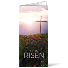 He Is Risen Mountain Bulletin